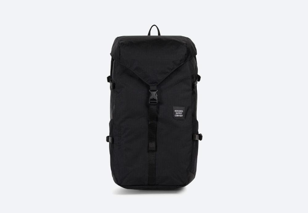 Herschel Supply — batoh — outdoor — městský — černý — Barlow Backpack Large — kolekce Trail
