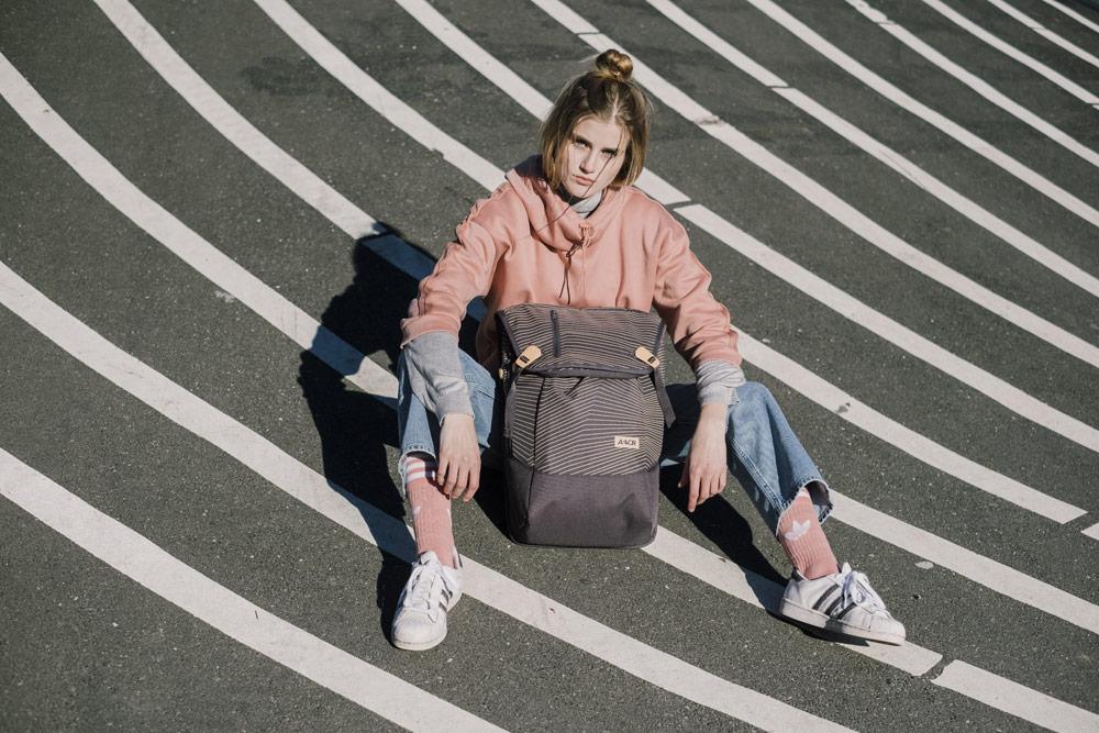 Aevor — batoh Daypack — městské, školní — recyklovaný z PET lahví — lookbook podzim/zima 2018