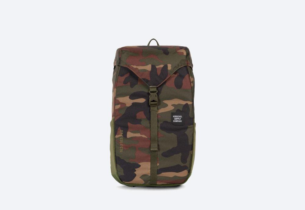 Herschel Supply — batoh — outdoor — městský — maskáčový — Barlow Backpack Medium — kolekce Trail