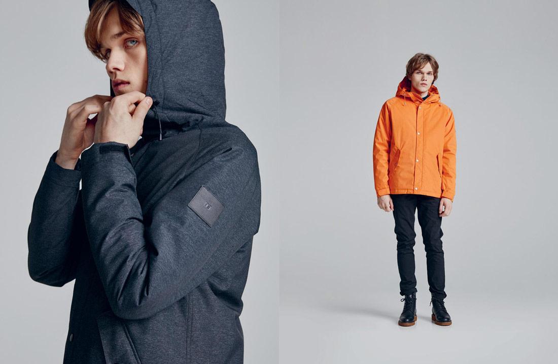 Makia — kratší podzimní/zimní bunda s kapucí