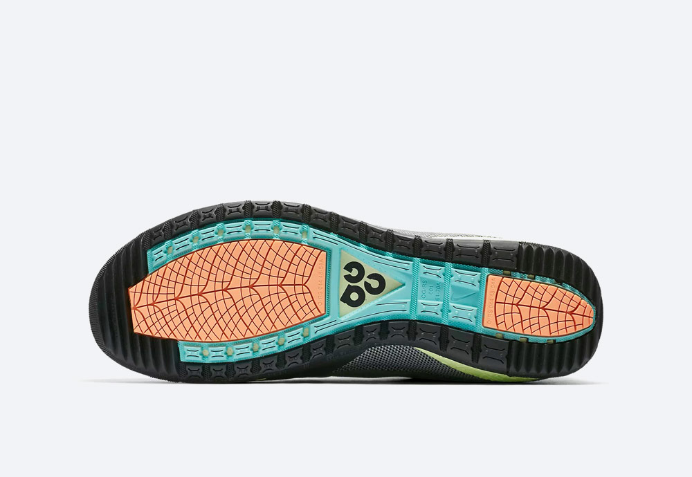 Nike ACG Ruckle Ridge — podrážka — detail