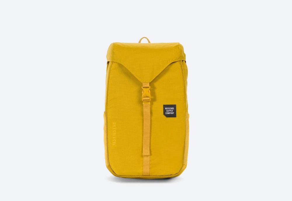 Herschel Supply — batoh — outdoor — městský — žlutý — Barlow Backpack Medium — kolekce Trail