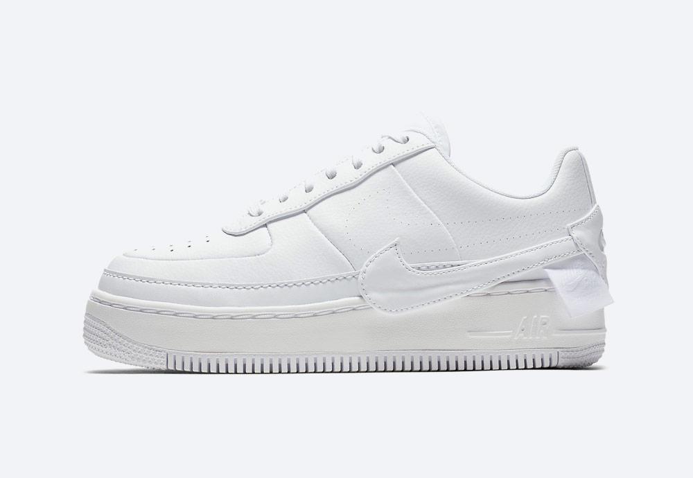 Nike Air Force 1 Jester XX — dámské boty — tenisky — sneakers — bílé
