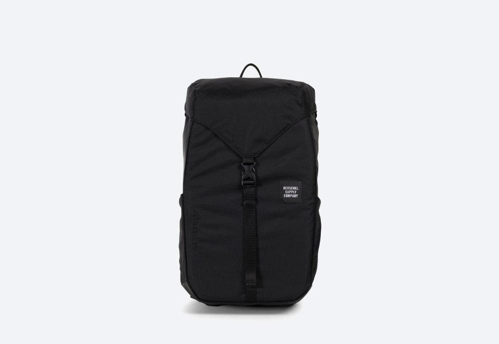 Herschel Supply — batoh — outdoor — městský — černý — Barlow Backpack Medium — kolekce Trail