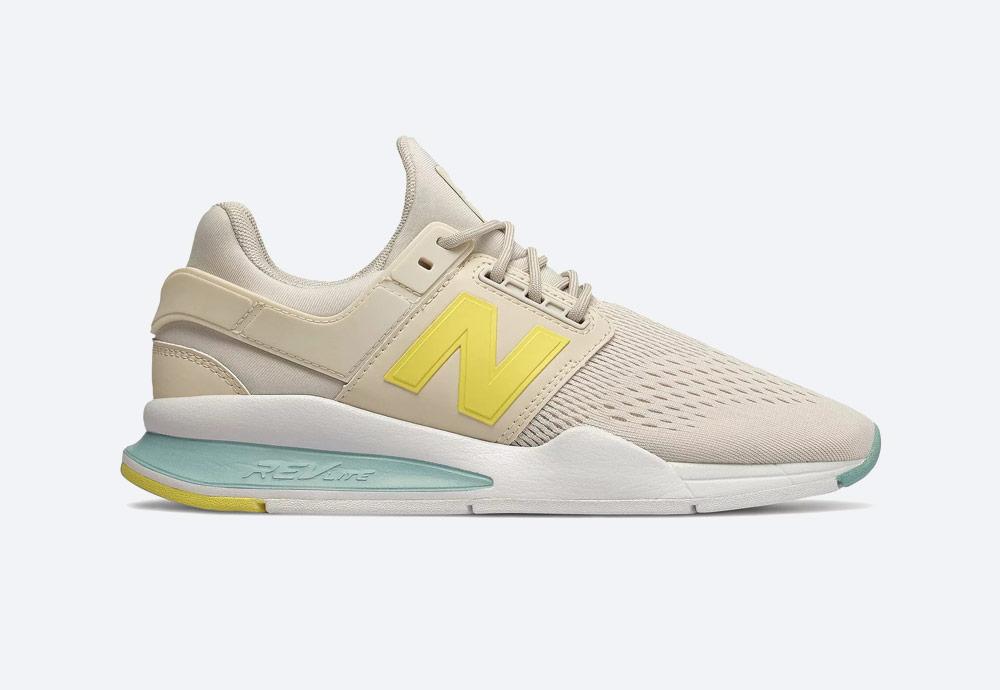 New Balance 247 — boty — dámské — tenisky — sneakers — krémové
