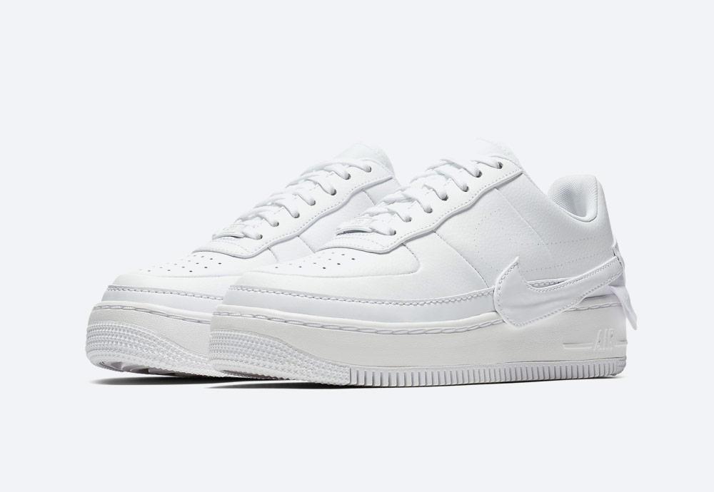 Nike Air Force 1 Jester XX — dámské sneakers — boty — tenisky — bílé