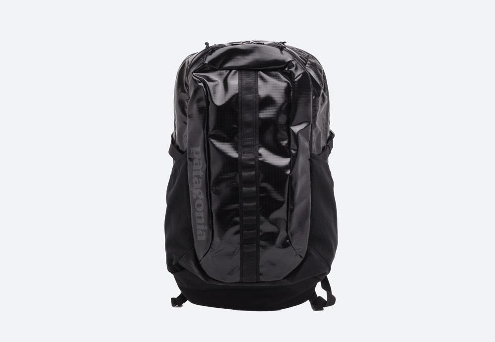 Patagonia — černý batoh — městský, outdoor, školní — nepromokavý — Black Hole Pack 30l