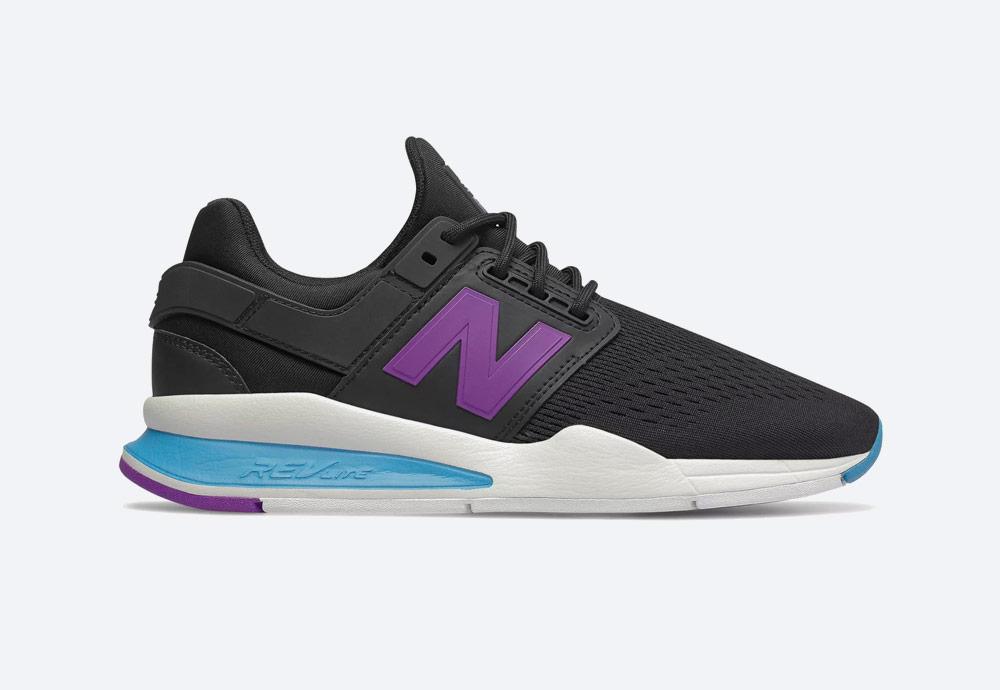 New Balance 247 — boty — dámské — tenisky — sneakers — černé