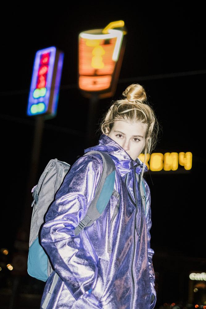 Aevor — batoh — městský, školní — recyklované z PET lahví — lookbook podzim/zima 2018