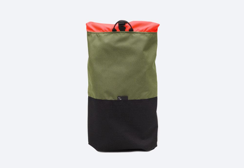 Braasi Industry — Tekla — batoh — zelený, olivový — urban, outdoor, městský