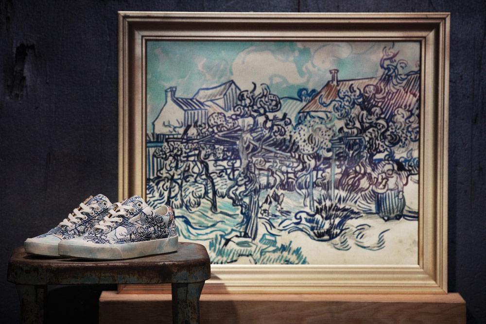 Vans x Van Gogh — tenisky Old Skool — Stará vinice a selka