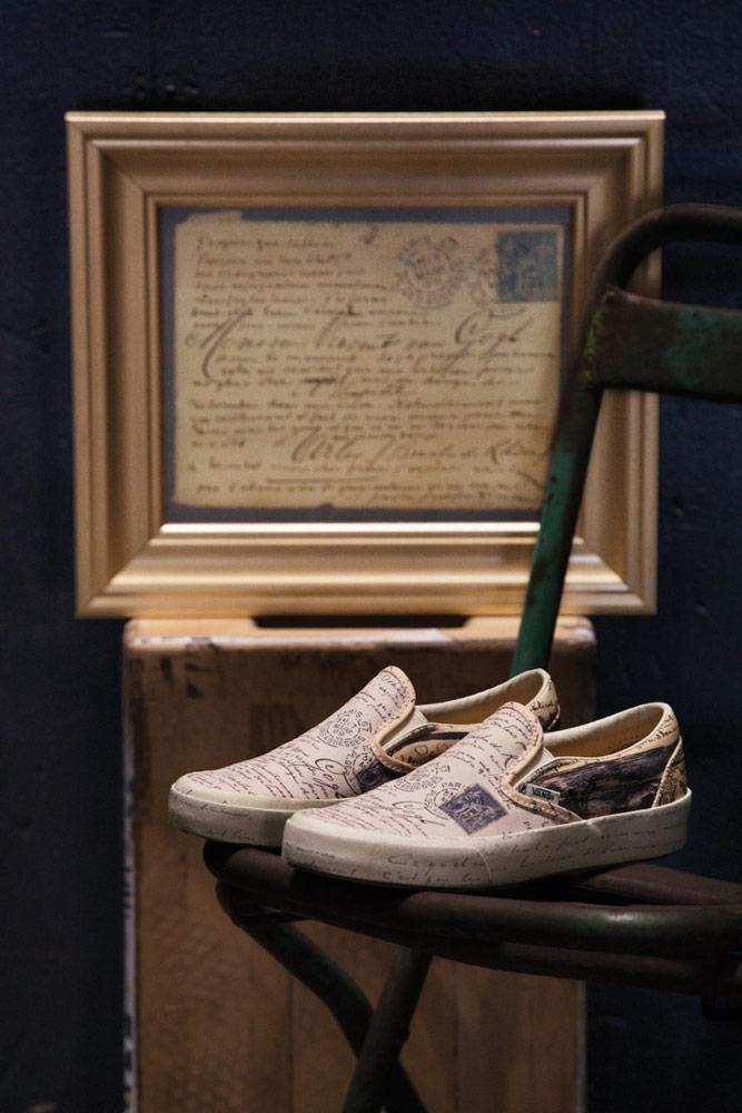 Vans x Van Gogh — tenisky Slip-On — dopis
