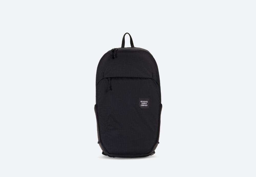 Herschel Supply — batoh — outdoor — městský — černý — Mammoth Backpack Medium — kolekce Trail