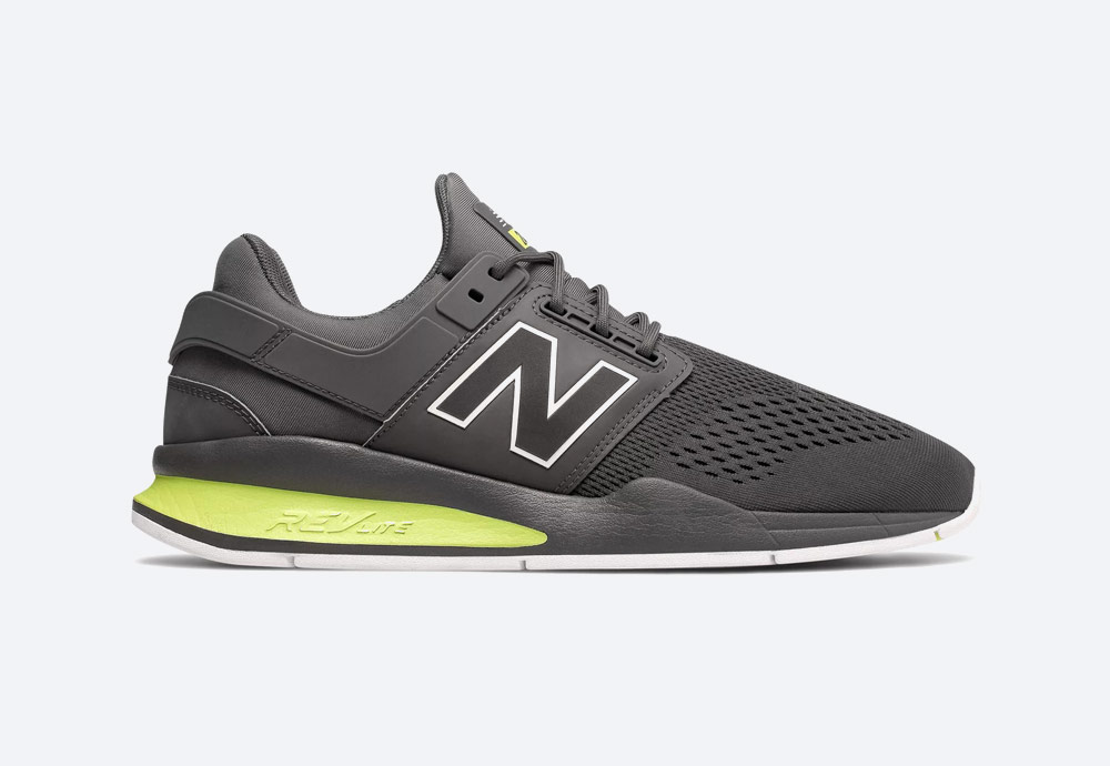 New Balance 247 — boty — pánské, dámské — tenisky — sneakers — tmavě šedé
