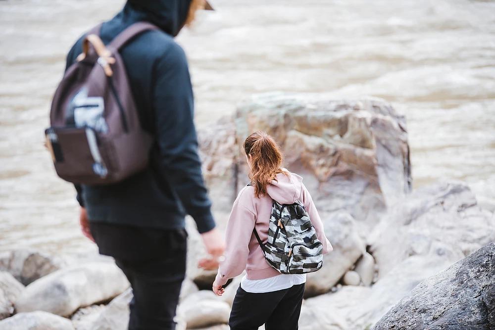 The Pack Society — maskáčový batoh — podzim/zima 2018