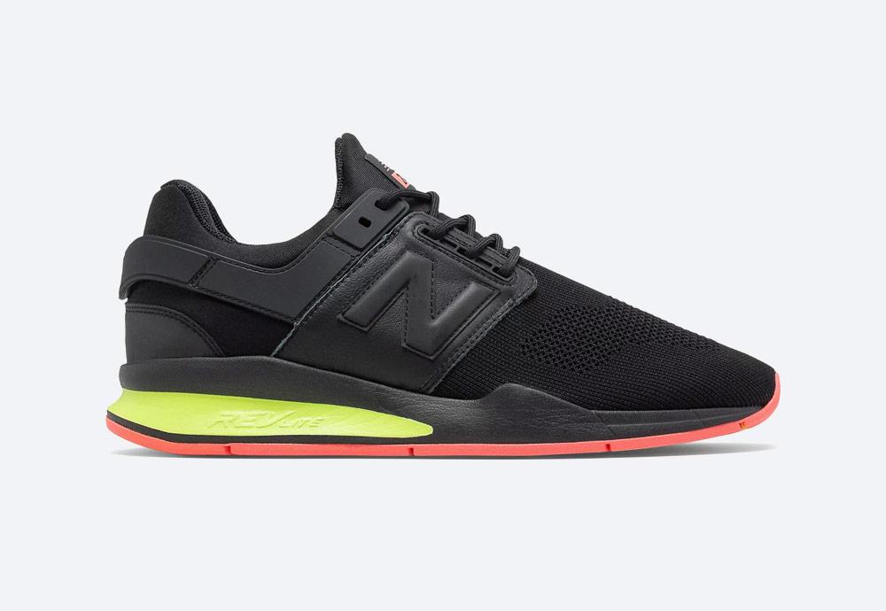 New Balance 247 — boty — pánské, dámské — tenisky — sneakers — černé