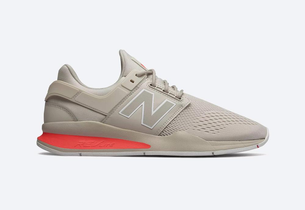 New Balance 247 — boty — pánské, dámské — tenisky — sneakers — krémové