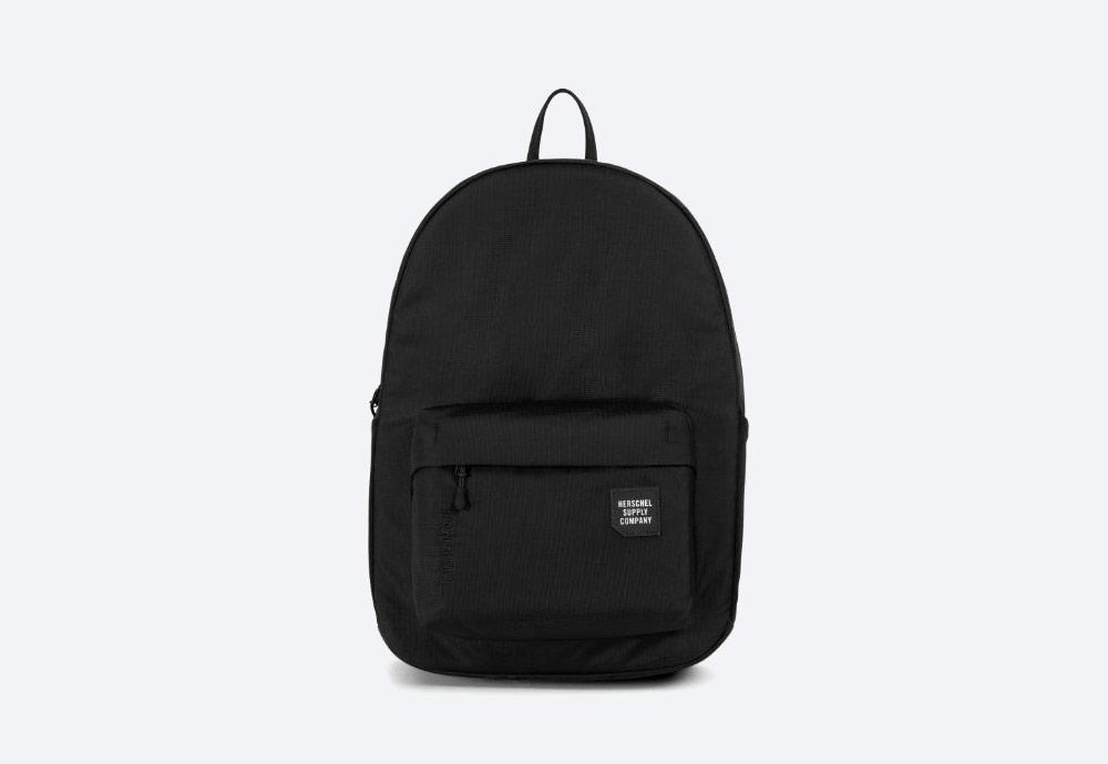 Herschel Supply — batoh — outdoor — městský — černý — Rundle Backpack — kolekce Trail