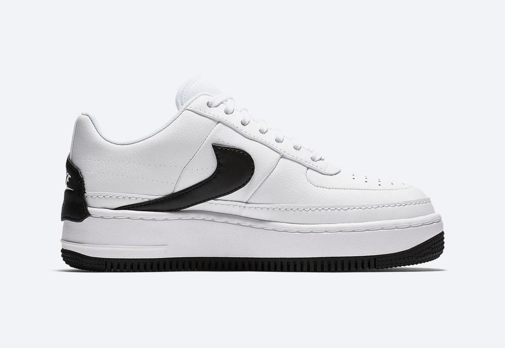Nike Air Force 1 Jester XX — dámské boty — tenisky — sneakers — bílé, černé detaily