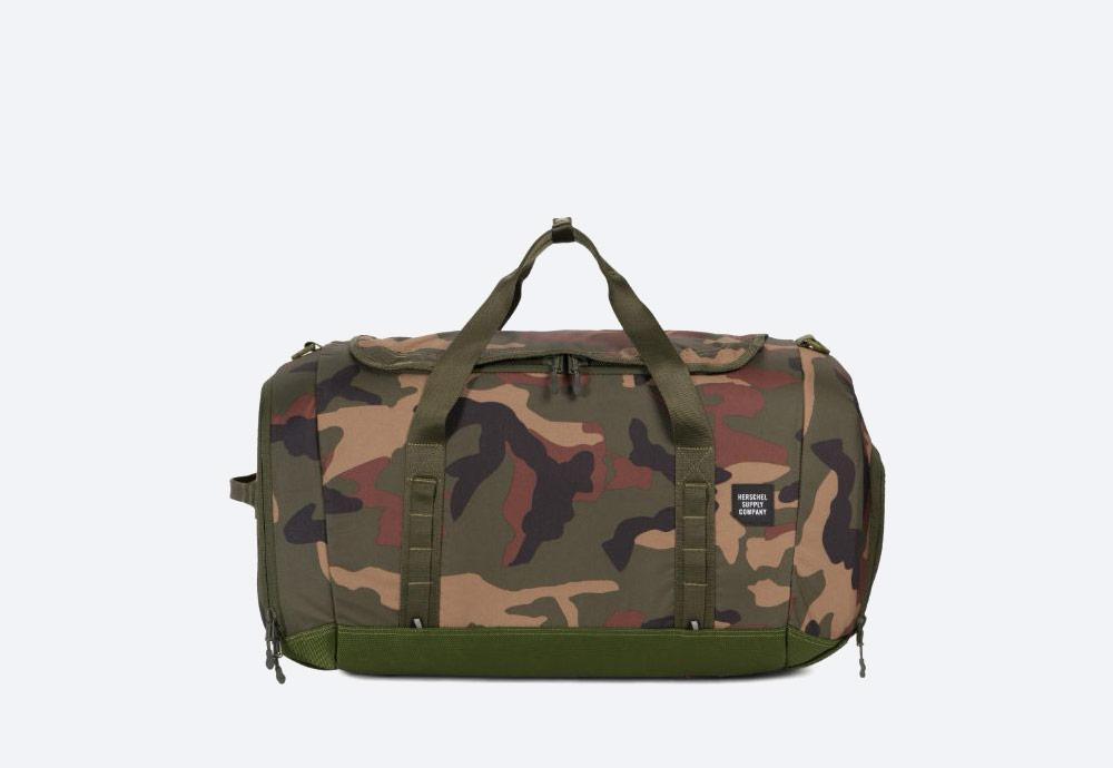 Herschel Supply — batoh — outdoor — městský — maskáčový — Gorge Duffle Large — cestovní taška — kolekce Trail