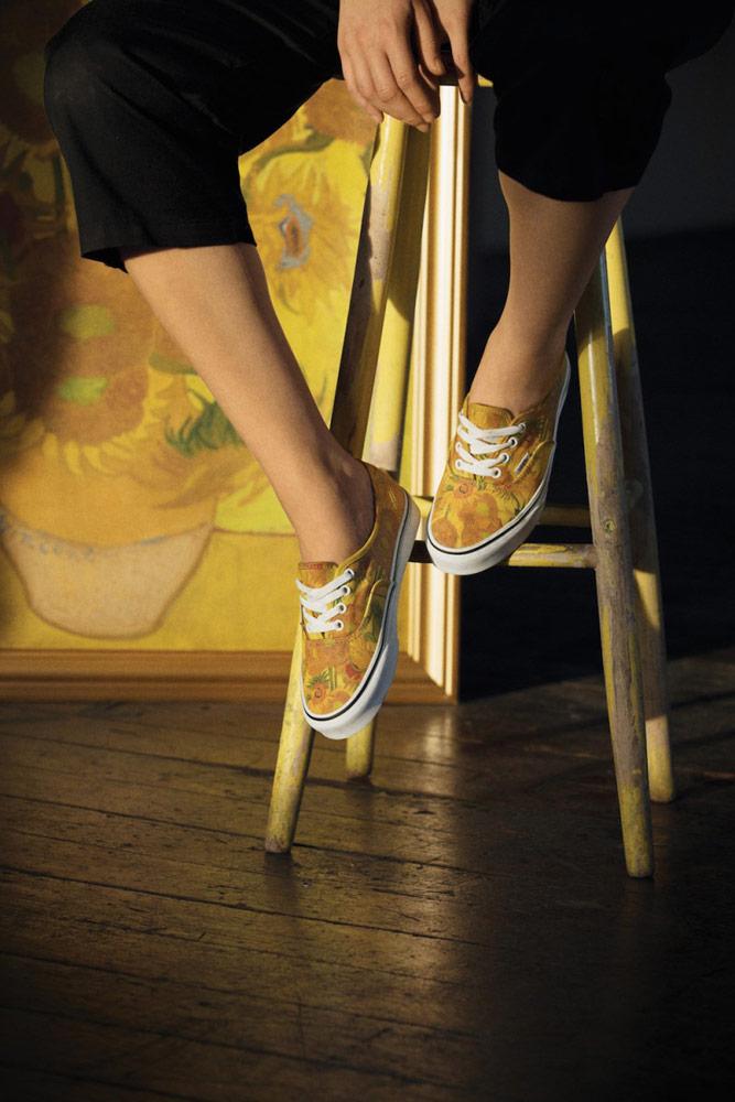 Vans x Van Gogh — tenisky Authentic — Slunečnice