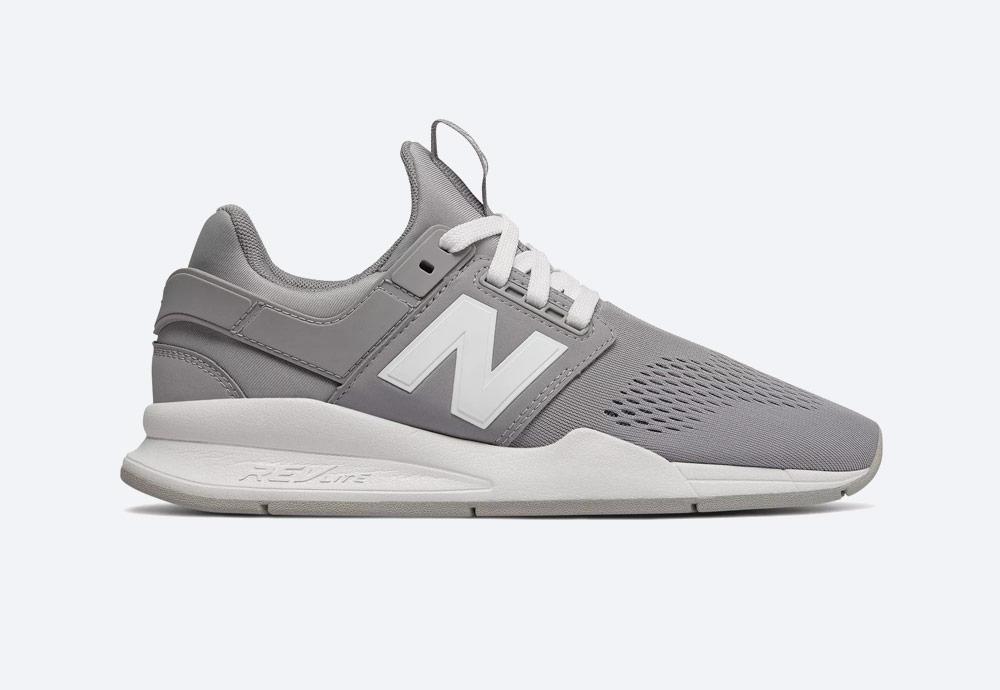 New Balance 247 — boty — dámské — tenisky — sneakers — šedé