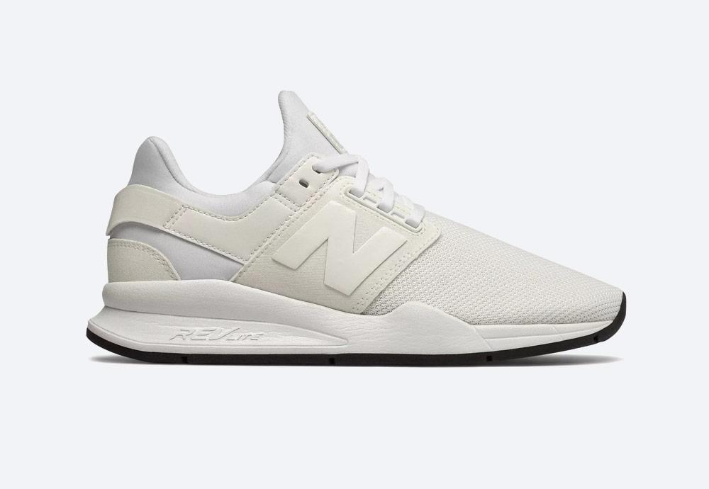 New Balance 247 — boty — dámské — tenisky — sneakers — bílé