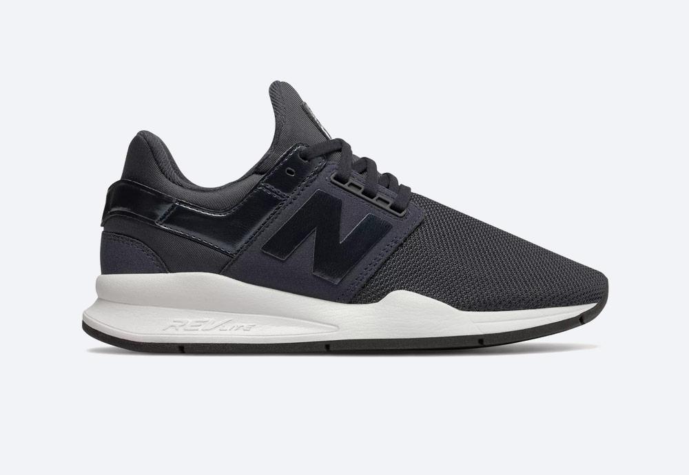 New Balance 247 — boty — dámské — tenisky — sneakers — modro-šedé