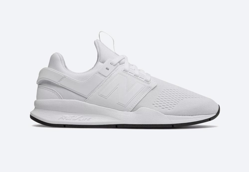 New Balance 247 — boty — pánské, dámské — tenisky — sneakers — bílé