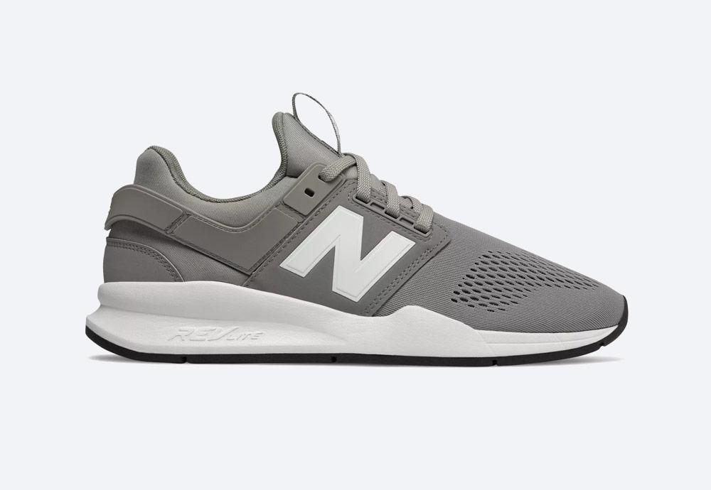 New Balance 247 — boty — pánské, dámské — tenisky — sneakers — šedé