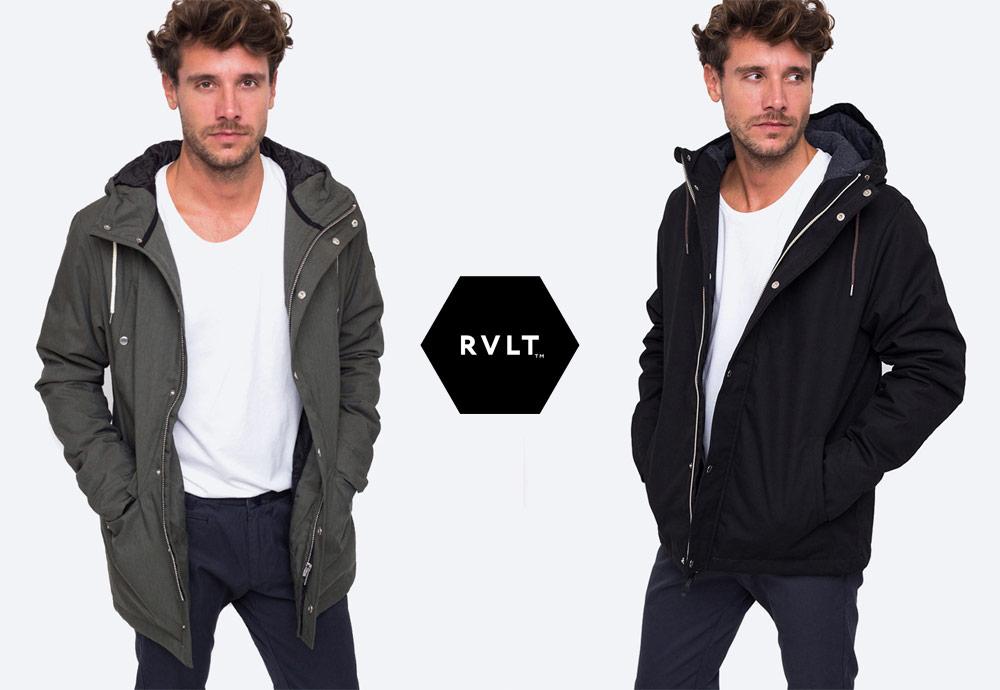 RVLT — pánské zimní bundy, parky — 2018