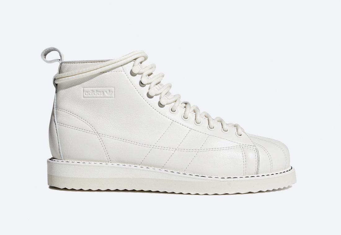 adidas Originals Superstar Boot W — kotníkové boty — dámské — bílé — podzimní/zimní