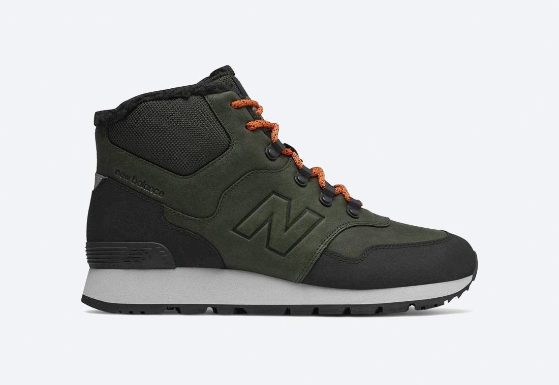 New Balance 755 — zimní boty — pánské — kotníkové/vysoké — zelené/khaki