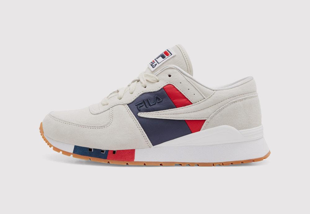 Fila Original Running Chiara — dámské boty — tenisky — sneakers — krémové