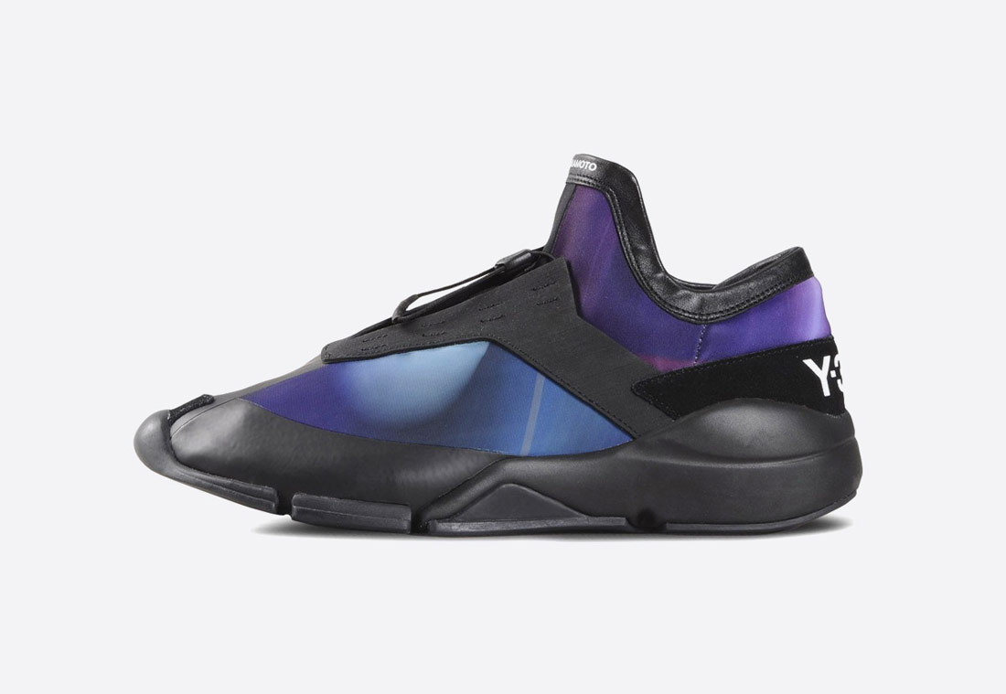 Y-3 Future Low – pánské futuristické tenisky – černé/fialové