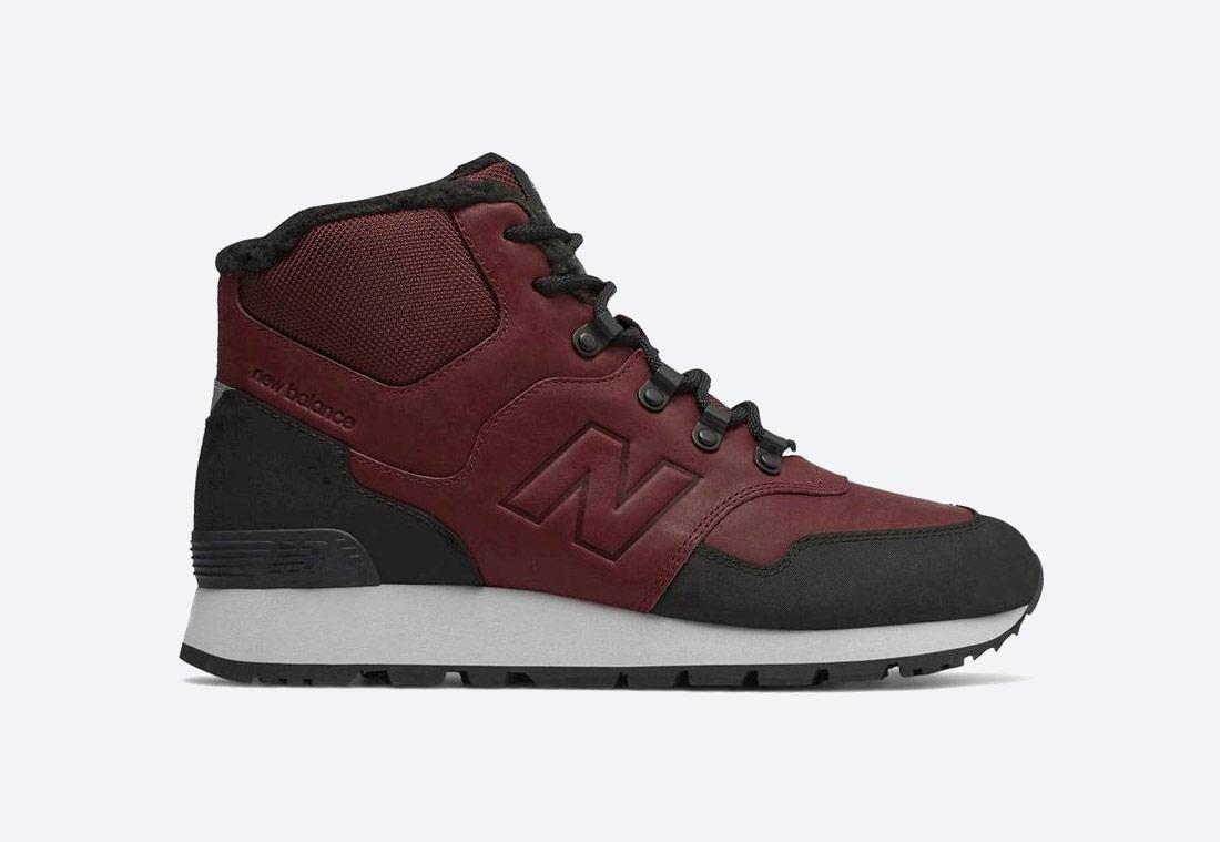New Balance 755 — zimní boty — pánské — kotníkové/vysoké — červené/bordó
