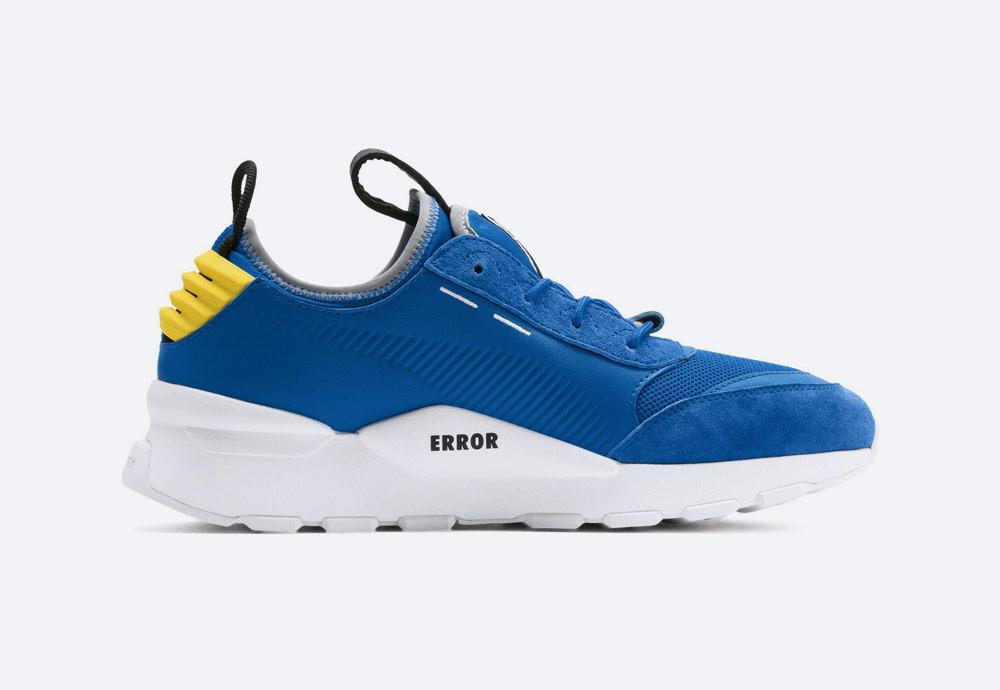 Puma x Ader Error RS-0 — boty — tenisky — sneakers — modré — pánské, dámské