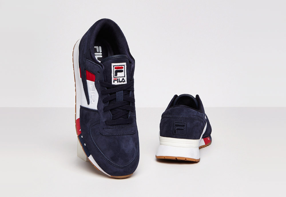 Fila Original Running Chiara — dámské boty — tenisky — sneakers — modré