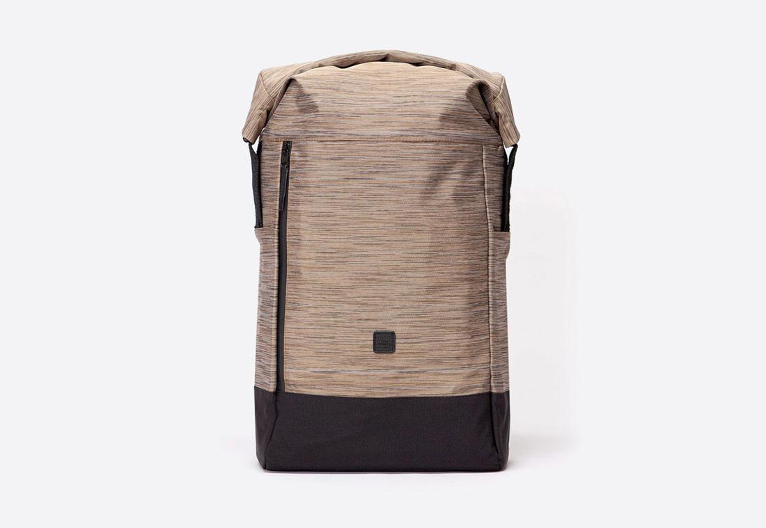 Ucon Acrobatics — Garrett Backpack — batoh — recyklovaný z PET — pískový — hnědý — se vzorem