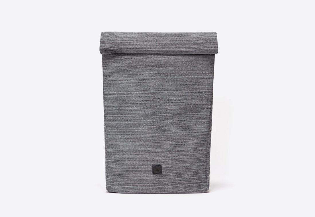 Ucon Acrobatics — Alto Backpack — batoh roll-top — recyklovaný z PET — šedý — se vzorem