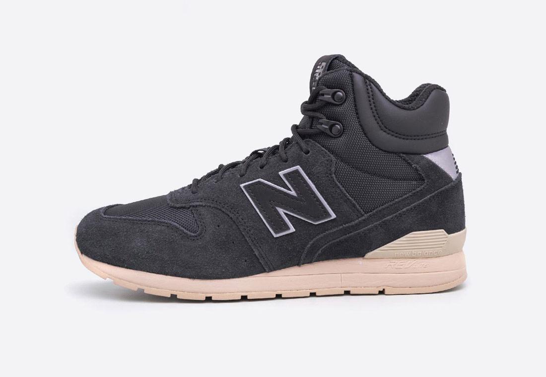 New Balance MRH996 – pánské kotníkové zimní boty – černé