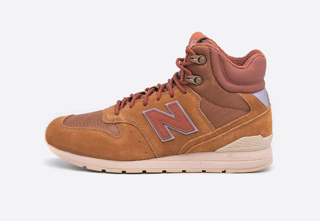 New Balance MRH996 – pánské kotníkové zimní boty – světle hnědé