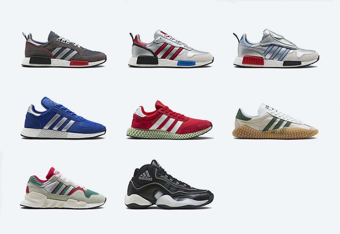 Boty adidas Originals z unikátní kolekce Never Made