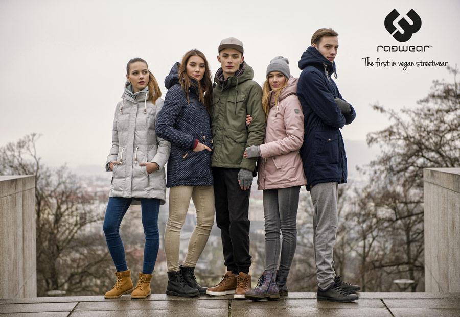 Zimní bundy Ragwear — pánské, dámské — kolekce Regular (2018)