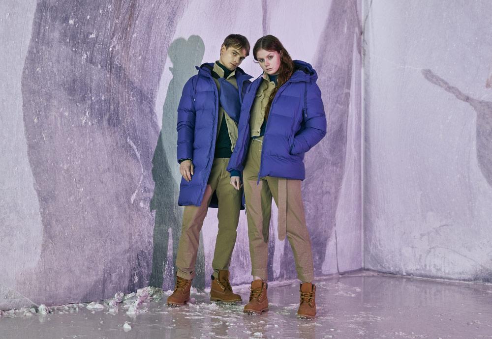 Péřové bundy, zateplené pršipláště a zimní parky Rains z kolekce Thermal