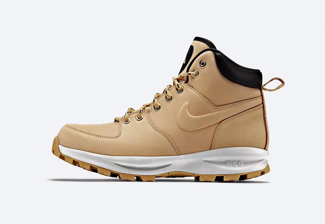 Nike Manoa — zimní boty — kotníkové, vysoké — pánské