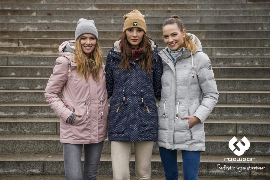 Ragwear — zimní bundy s kapucí — parky — dámské
