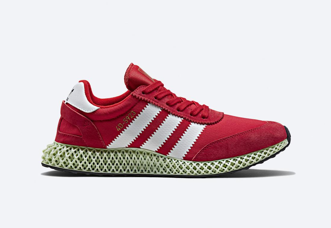 adidas Originals Ix4D — boty — sneakers — tenisky — červené