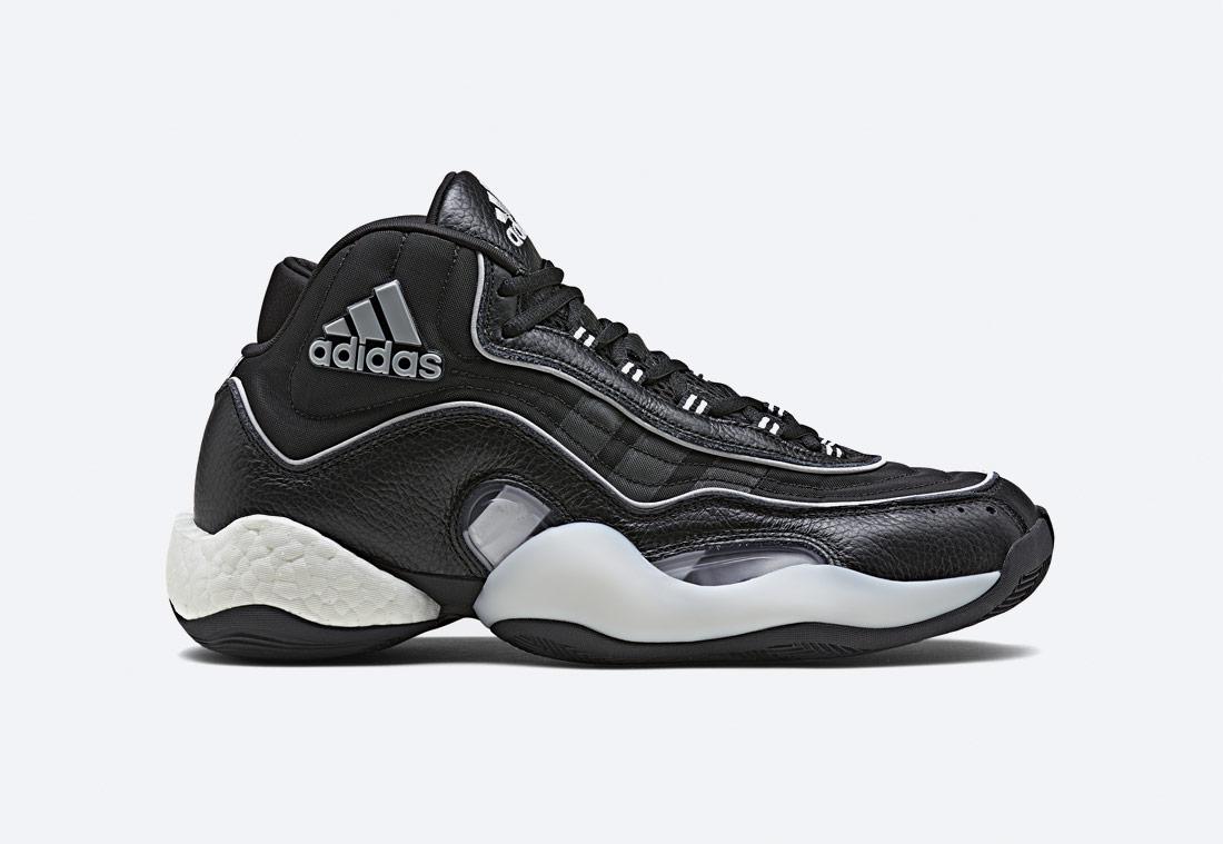 adidas Originals 98xCRAZYBYW — kotníkové boty — sneakers — tenisky — černé