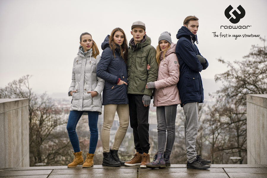 Ragwear — zimní bundy s kapucí — parky — dámské, pánské